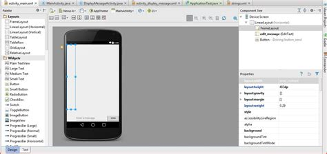 different layout in android studio layout problems in android studio web development