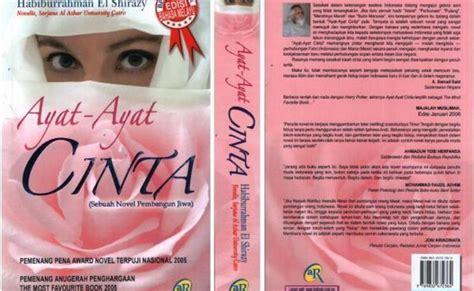 membuat resensi novel ayat ayat cinta review novel ayat ayat cinta seni khat warisan islam