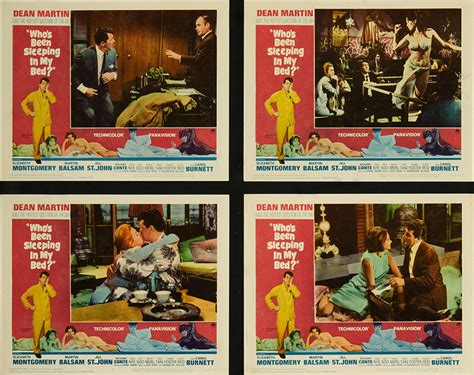 who s been sleeping in my bed who s been sleeping in my bed 1963 original lobby card fff 05693 fff movie posters
