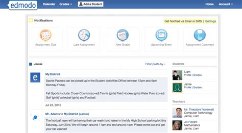 edmodo new account new release parent account updates moderated posts and