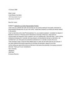 Cover Letter For Sle by Wining Cover Letter Sle For Sales Position Vntask
