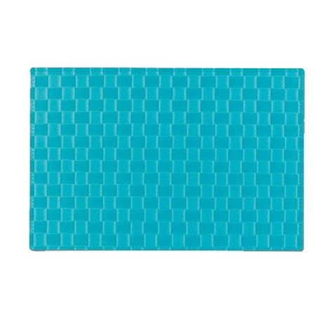 Turquoise Place Mats by Zp26729 Zeller Present Pe Braided Placemats Turquoise