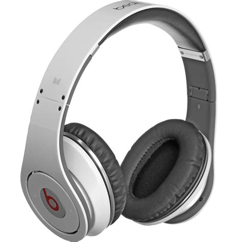 Headphone Beats Dr Dre Studio White Kw power beats by dr dre studio high definition 129438 b h