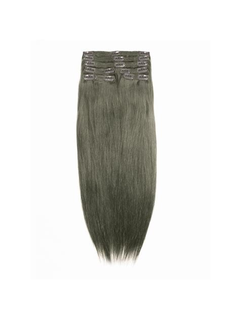 remy hair extensions clip in medium ash brown indian remy clip in hair extensions sd010