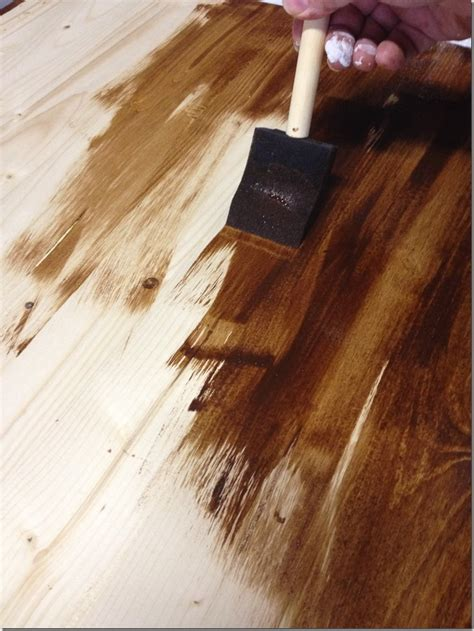 How To Stain Wood Table by The Lazy Girl S Timesaving Tips For Staining Furniture