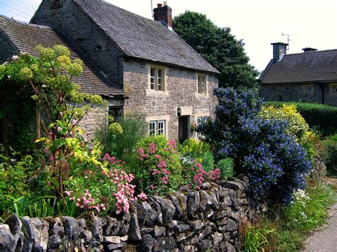 Garden Cottages by A Joyful Cottage Inspire Me Monday Cottage Gardens