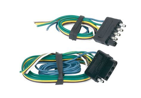 towing solution 47895 5 wire flat connector set ebay