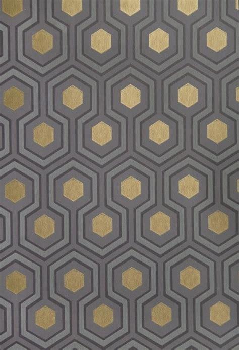 gold hexagon pattern hicks hexagon wallpaper small geometric design design