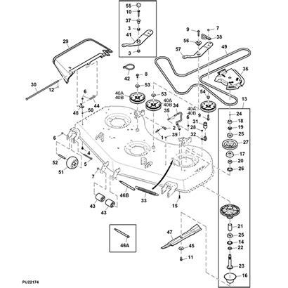 deere deck parts diagram deere 757 parts diagram tractor parts diagram