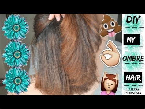 tutorial rambut blonde ombre videolike