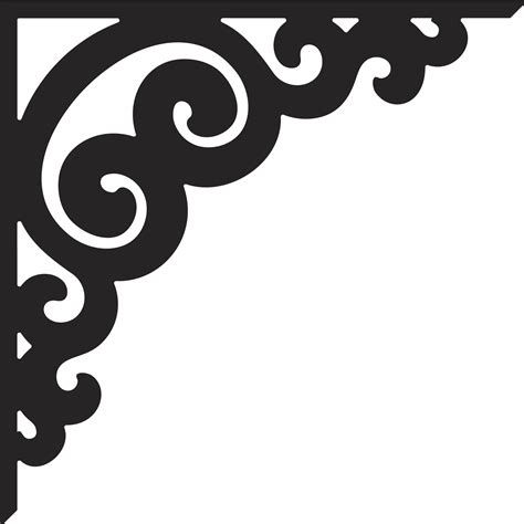 corner template designs stencil 100 stencil patterns arabesco