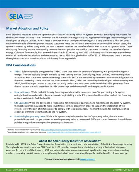 solar power purchase agreement template solar power purchase agreements for free page 2