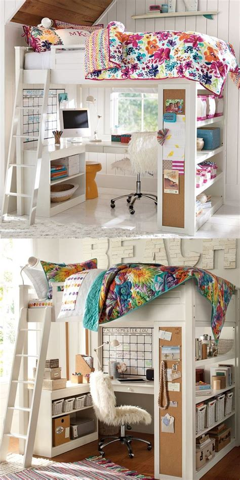 superb Best Bunk Beds For Small Rooms #1: amazing-kids-loft-bed-decoration.jpg