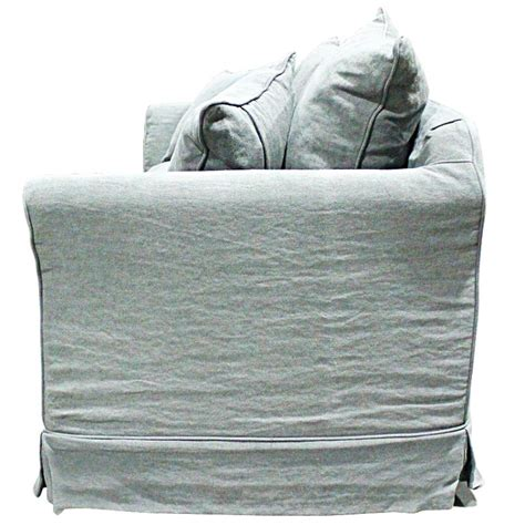 feather couch cushions lisbon sofa w feather down filled cushions grey buy