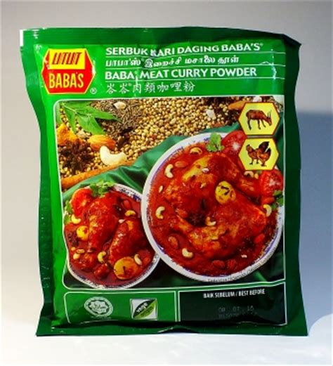 Bubuk Kari Daging By Pusatbumbu bumbu gulai kari daging babas curry powder harga