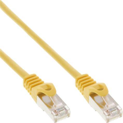 Patch Cord Utp Cat 5e 10 Meter Warna Biru 1 inline 174 patch cord f utp cat 5e yellow 10m cat 5e f utp patch cable cat 5e cable
