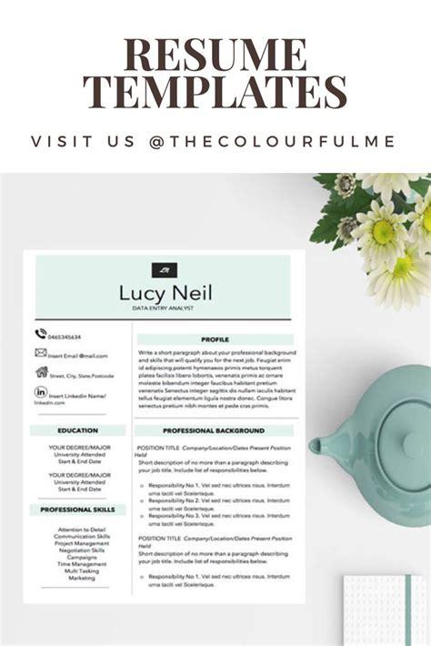 best 25 resume templates ideas on resume