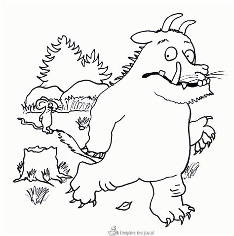 kokosnuss le free coloring pages of the gruffalo child