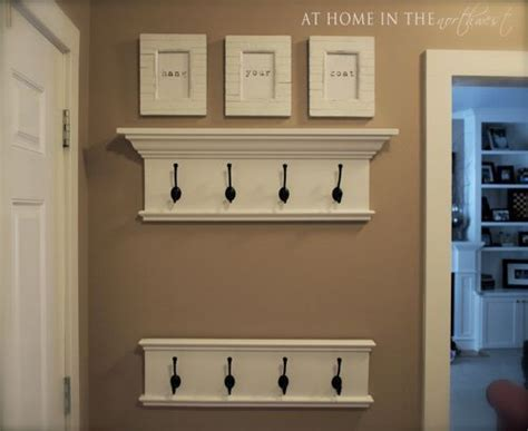 Crown Molding Coat Rack by Stains Coat Hooks And Crown Moldings On
