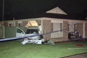 car crashes into house woman injured as car driven by 50yo p plater crashes into house in sydney s south west
