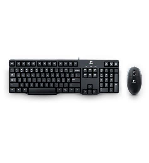 Logitech Mk100 Mouse Kabel Keyboard Ps2 Bundle 1 toko komputer rakitan pc laptop akitio notebook