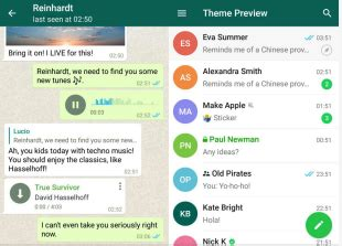 themes telegram android download telegram themes for android desktop 100 theme