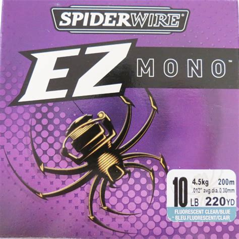 Senar Spiderwire Ez Mono Fluorescent Clear spiderwire fishing line mono fishing line spiderwire the