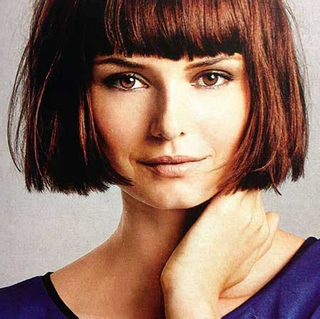 bob with bangs hairstyles for overweight super short bob haircuts short hairstyles 2016 2017