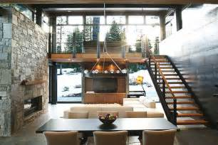 Mountain Homes Interiors If It S Hip It S Here Archives Marvelous Modern Mountain Home In Truckee California Is A