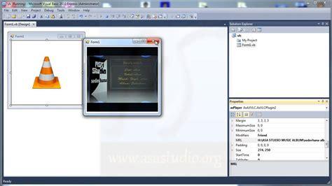 tutorial visual basic 2010 youtube visual basic 2010 tutorial basic 15 adding vlc player