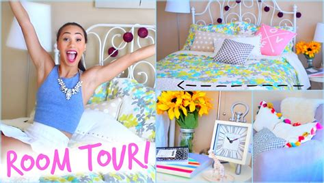 Really Cool Bedroom Ideas room tour 2014 back to school room decor mylifeaseva