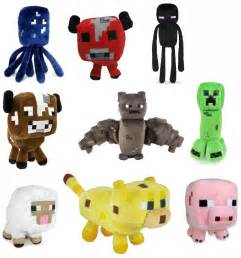 kohls black friday set of 9 minecraft 7 assorted plushies only 21 39