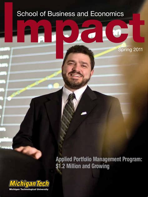 School Of Business And Economics Mba by Impact Magazine 2011 School Of Business And