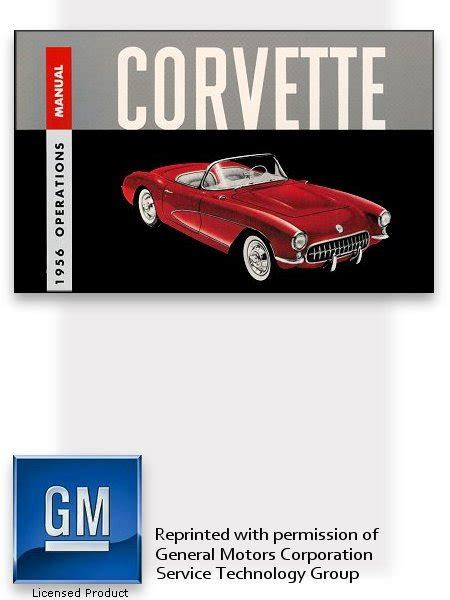 book repair manual 1961 chevrolet corvette engine control 1956 chevrolet corvette owner s manual part no 3737520