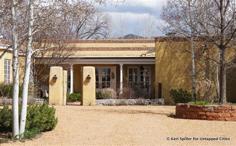 territorial style house plans old world in the new world santa fe s architectural