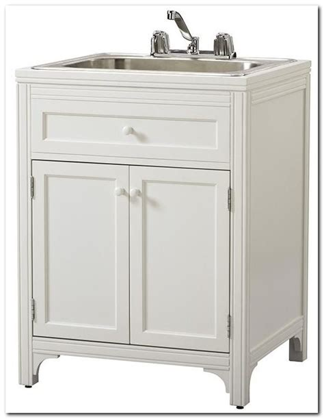 basement laundry sink sump sink and faucet home