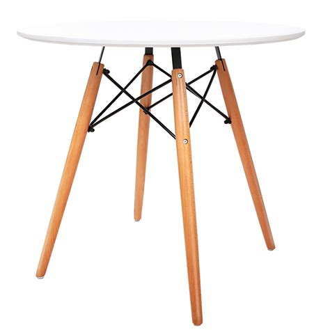 Replica Eames Dining Table Replica Eames Dsw Eiffel Dining Table White Wholesales Direct