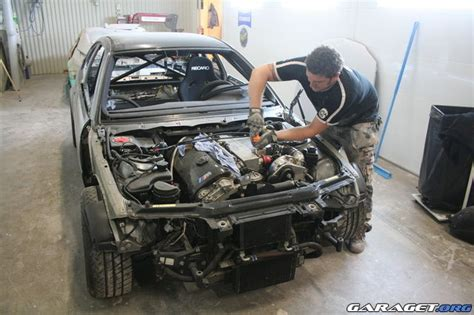 garage david auto angers crash de la m3 csl loaded