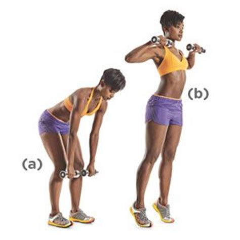 1b dumbbell high pull the check womens health magazine and work