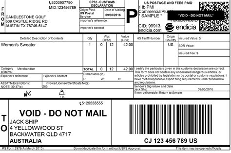 5 Tips To Make Sure Your International Shipping Label Format Is Perfect Dhl Shipping Label Template