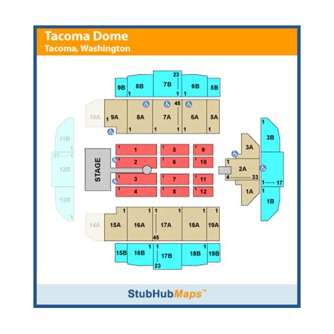 tacoma dome seating view tacoma dome events and concerts in tacoma tacoma dome