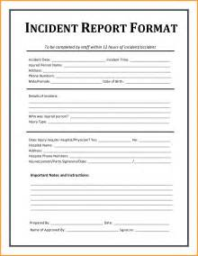 Technical Investigation Report Template example of incident report letter format mail