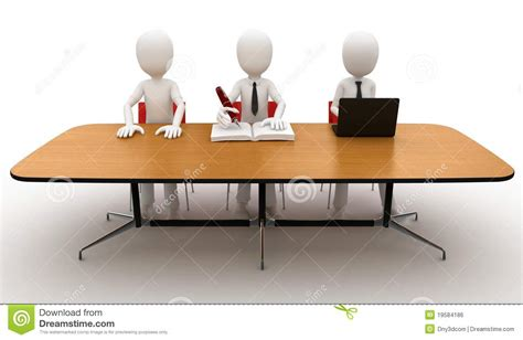 man  contest jury table royalty  stock image image