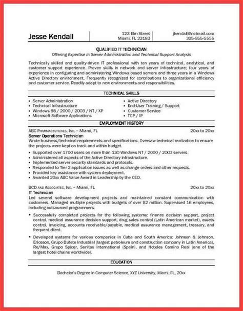 sle resumes for experienced persons 17427 pharmacy technician resume sle resume for