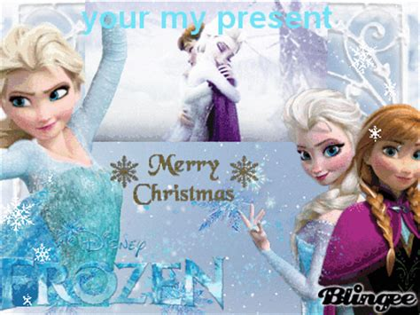 merry christmas  frozen picture  blingeecom