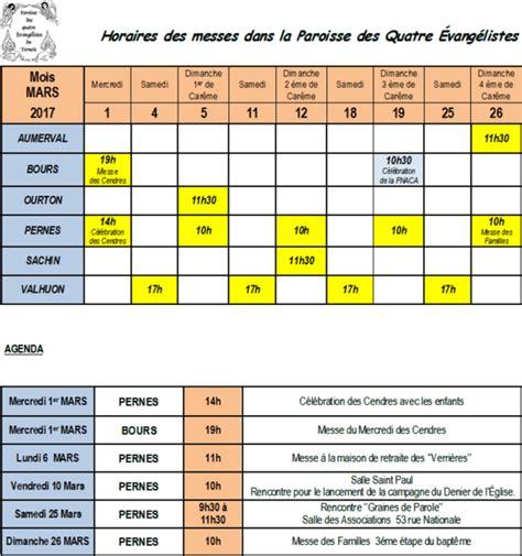 Calendrier 3 Mars Calendrier Et Agenda Du Mois De Mars 2017
