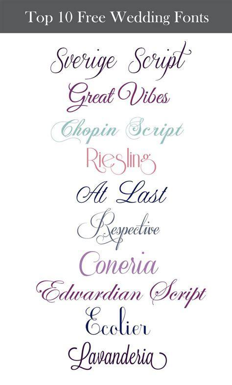 25  best ideas about Wedding fonts on Pinterest   Wedding