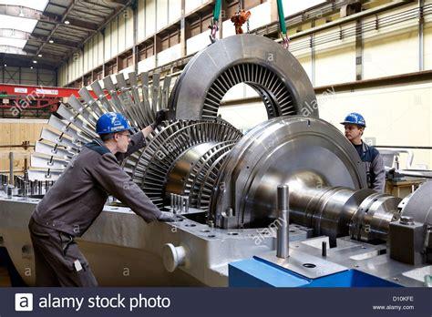 Turbine Engine Mechanic by Oberhausen Germany Industrial Mechanic Working On A
