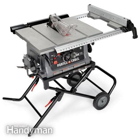task table saw review portable table saw reviews the family handyman