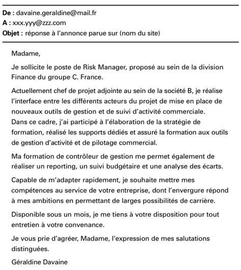 Lettre De Motivation Vendeuse Réponse à Une Annonce Demande D Emploi Suite 224 Une Annonce Employment Application